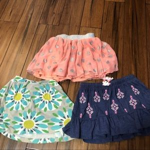 Set of 3 size 5/6 Skirts